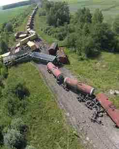 Geležinkelio avarijos