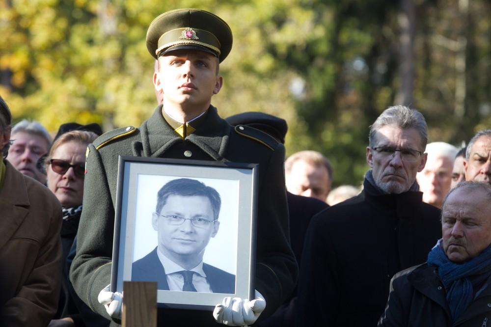 Atsisveikinta su Seimo nariu, sveikatos apsaugos  ministru Juru Požela