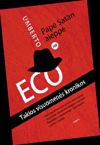 Paskutinė Umberto Eco knyga – šmaikšti takios visuomenės analizė