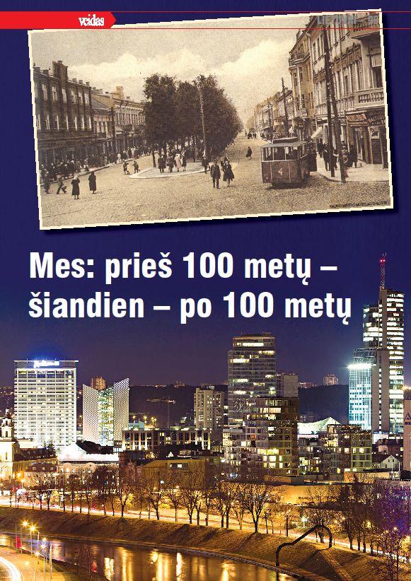 Lietuvai – 99. Mes: prieš 100 metų – šiandien – po 100 metų