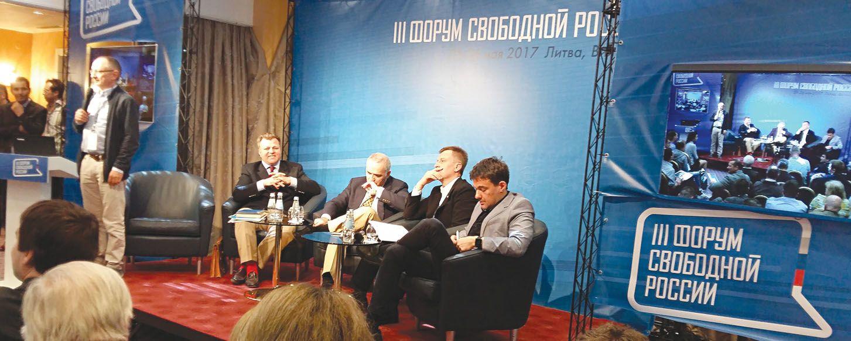Nevieninga Rusijos opozicija vieningai renkasi Vilnių