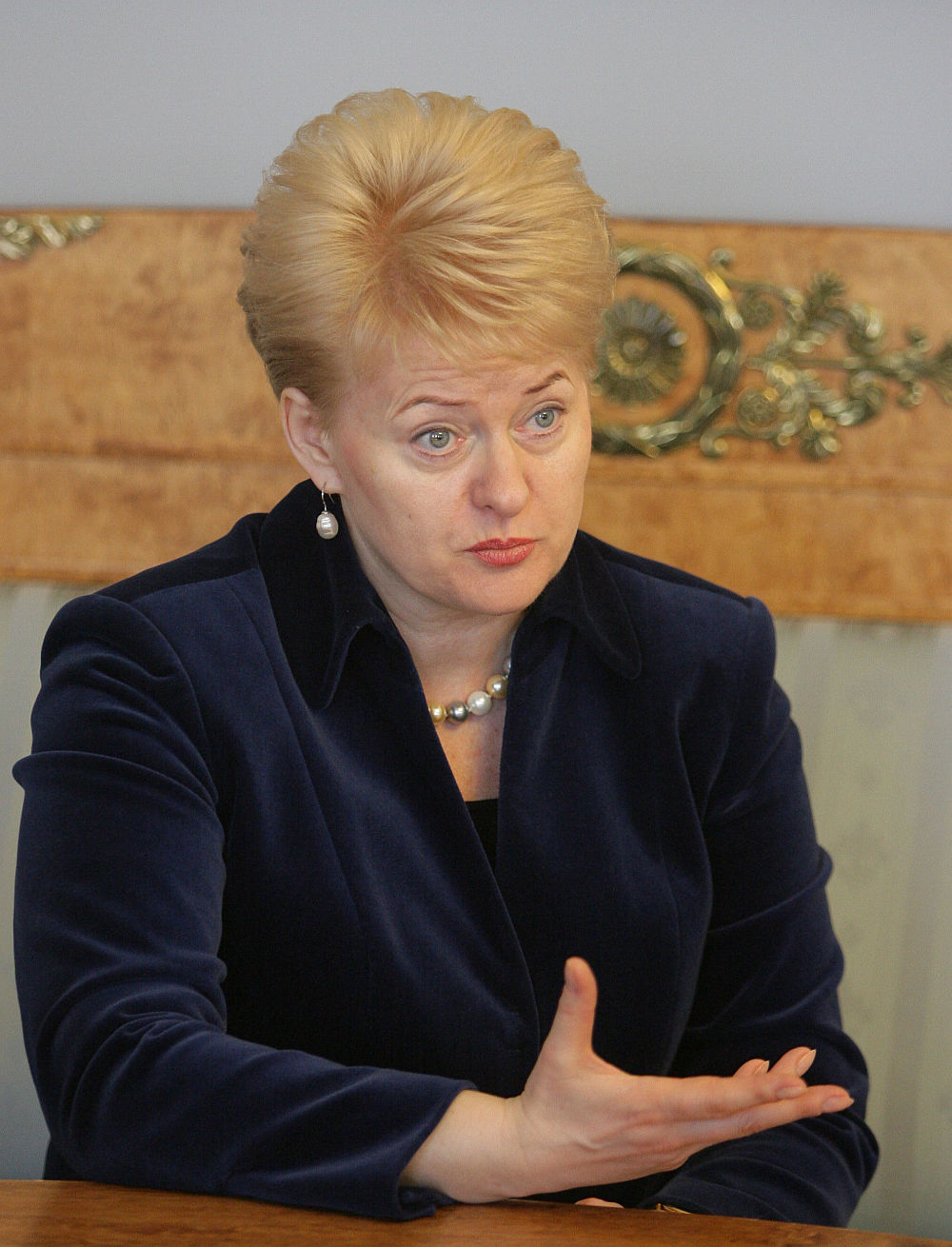 Meilė Lietuvos prezidentams – akla | Veidas lt