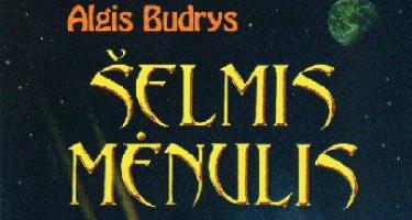 Kuris didesnis šelmis: Algis Budrys ar Mėnulis?