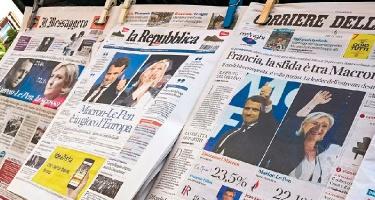 Prancūzijos prezidento rinkimų išklotinė